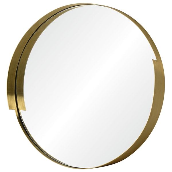 216d402705c5 Shop Varaluz Casa Echo 20 x 20 Round Gold Mirror - Free Shipping Today -  Overstock.com - 14595867
