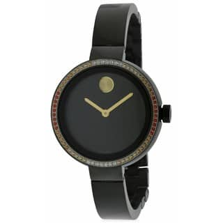 Movado Women's 3600283 Black Stainless Steel and Rubber Bold Diamond Watch https://ak1.ostkcdn.com/images/products/14595900/P21140707.jpg?impolicy=medium