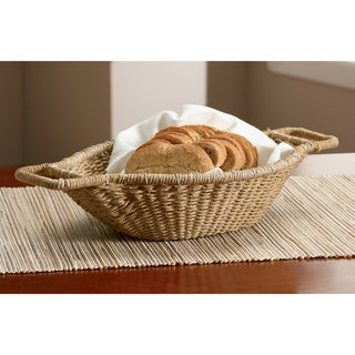 Link to 18-inch Jute Wrapped Oval Basket Similar Items in Decorative Accessories