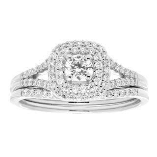 10k Gold 1/2ct TDW White Diamond Bridal Set