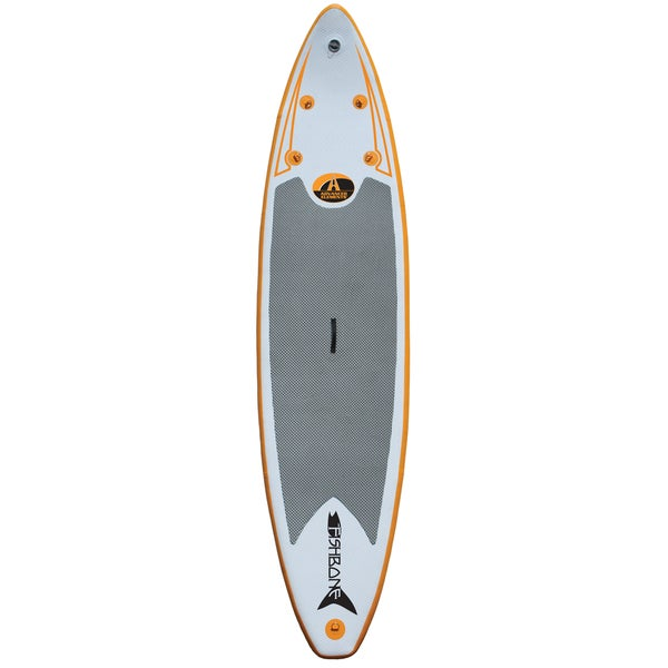 Fishbone Inflatable Stand Up Paddle Board with Pump