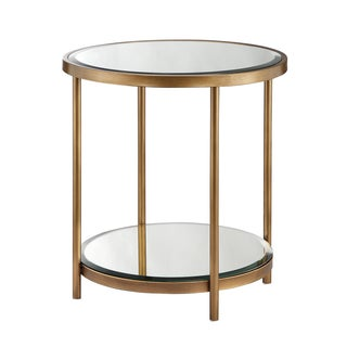 Madison Park Brandy Mirror/ Bronze End Table