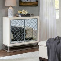 Madison Park Duluth White Two-Door Cabinet