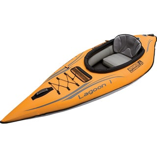 Lagoon 1 Orange Kayak