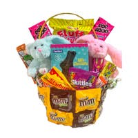Double Bunny Easter Basket