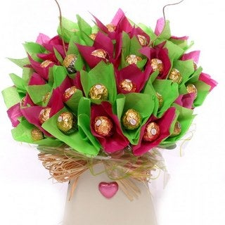 Contemporary Perfection Gourmet Candy Bouquet