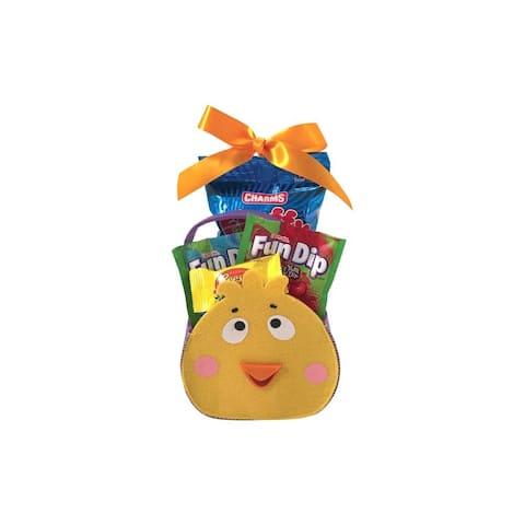 Easter Felt Duckie Character Easter Basket