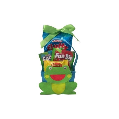 Easter Felt Frog Character Easter Basket