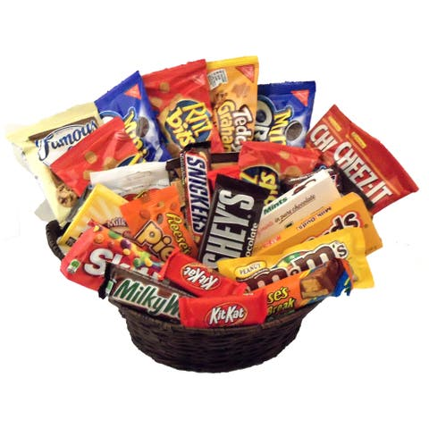 Candy Explosion Candy Gift Basket