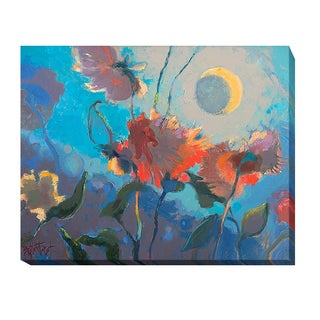 Dahlia Moonglow by Beth A. Forst Gallery-wrapped Canvas Giclee Art
