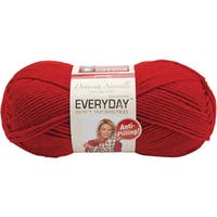 Deborah Norville Collection Everyday Solid Yarn-Really Red
