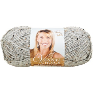 Vanna's Choice Yarn-Grey Marble