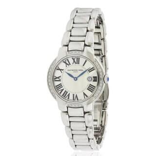 Raymond Weil Women's Stainless Steel Jasmine Diamond Watch