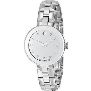 Movado Women's 0606814 Stainless Steel Sapphire Watch