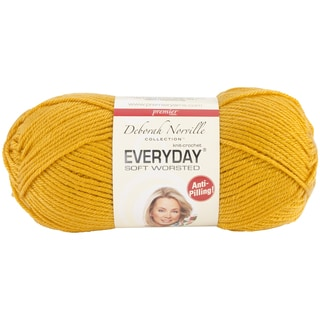 Deborah Norville Collection Everyday Solid Yarn-Mustard