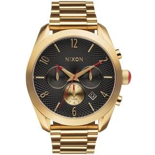 Nixon Women's A366510 Bullet Goldton Chronograph Watch