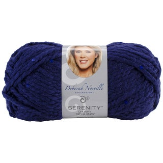 Deborah Norville Collection Serenity Chunky Sequin Yarn-Night Sky