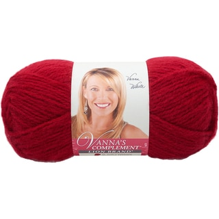 Vanna's Complement Yarn-Cranberry