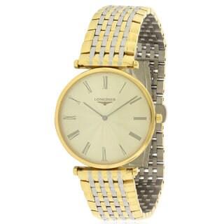 Longines Men's Stainless Steel La Grande Classique Two-Tone Watch