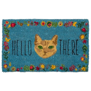 TAG Hello There Cat Coir Mat