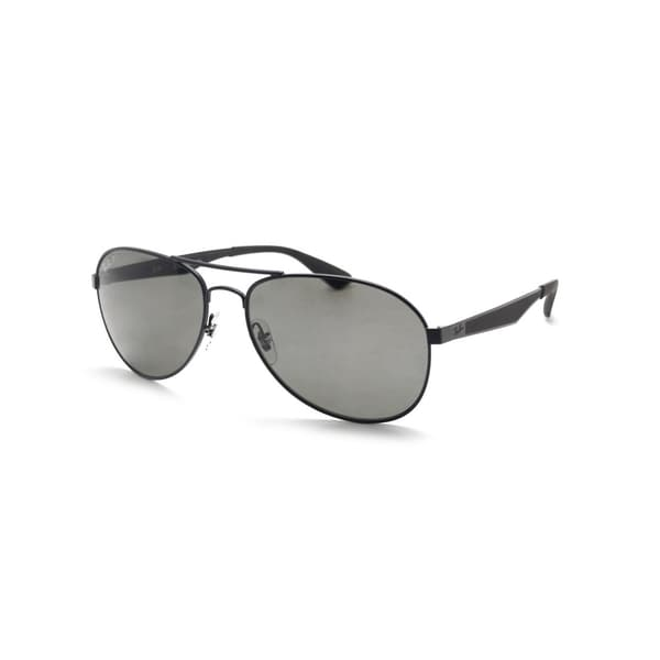 46795414f5 Shop Ray-Ban Men s RB3549 006 9A 61 Aviator Metal Plastic Black ...