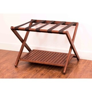 Merry Products Eucalyptus Luggage Rack