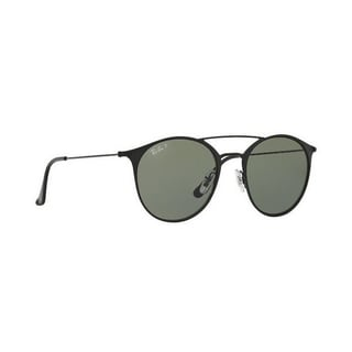 Ray-Ban Unisex RB3546 186/9A 49 Round Metal Plastic Green Sunglasses
