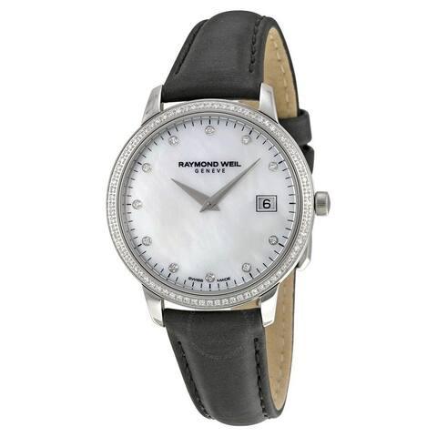 Raymond Weil Women's Stainless Steel Toccata Diamond Watch
