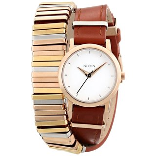Nixon Kenzi Wrap leather Ladies' Watch A4031749