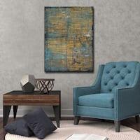 Ready2HangArt Abstract Canvas Art 'Night Life' by Norman Wyatt, Jr.