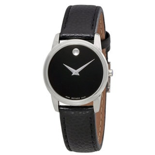 Movado Ladie's 0607015Museum Classic Leather Watch