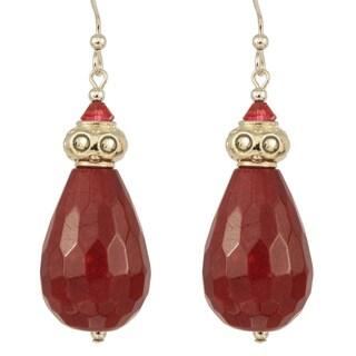 Drops of Plum Nectar Earrings