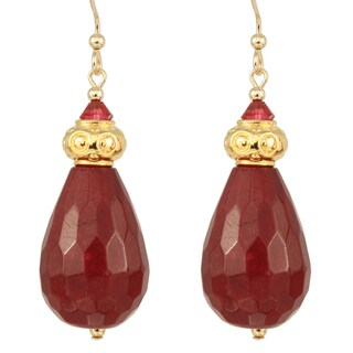 Drops of Plum Nectar Earrings