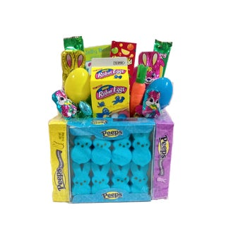 Robins Nest Peeps Bouquet Gift basket