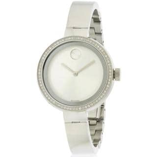 Movado Women's 3600281 Stainless Steel Bold Watch https://ak1.ostkcdn.com/images/products/14602413/P21146459.jpg?impolicy=medium