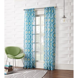 No. 918 Marquez Semi-sheer Rod-pocket Single Curtain Panel