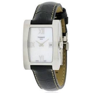 Tissot Women's Generosi-T T0073091611302 Leather Watch