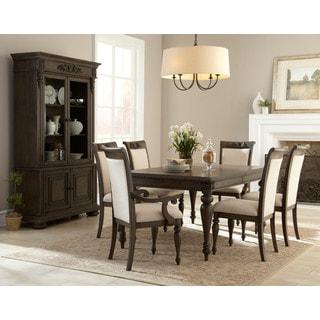 Versailles 7-piece Brown Dining Set