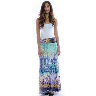 Women's Bohemian Pattern Maxi Skirt