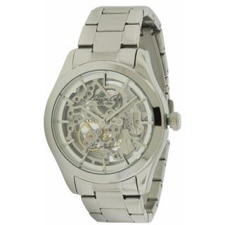 Kenneth Cole New York Silvertone Stainless Steel Automatic Men's Watch https://ak1.ostkcdn.com/images/products/14602533/P21146562.jpg?impolicy=medium