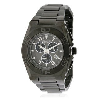 Kenneth Cole New York Men's KC9300 Black IP Chronograph Watch