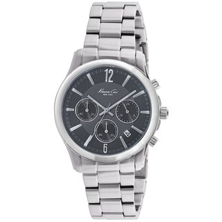 Kenneth Cole New York Stainless Steel Chronograph Men's Watch