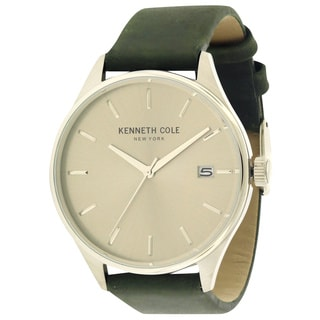 Kenneth Cole New York Men's 10029308 Leather Watch