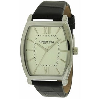 Kenneth Cole Men's 10031320 New York Leather Watch