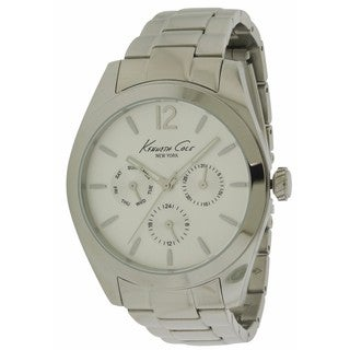 Kenneth Cole New York 10027823 Men's Silvertone Stainless Steel Watch