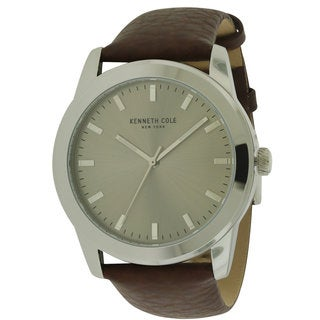 Kenneth Cole New York Men's 10031337 Leather Watch