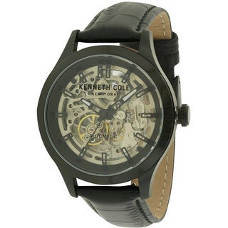Kenneth Cole New York 10027342 Men's Automatic Leather Watch