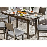 Furniture of America Timpton Contemporary Grey 66-inch Counter Height Table