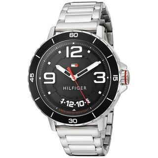 Tommy Hilfiger Men's Trevor 1791252 Black Stainless Steel Watch