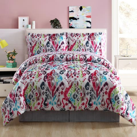 Lemon & Spice Ryder Bohemian Medallion Bed in a Bag Comforter Set